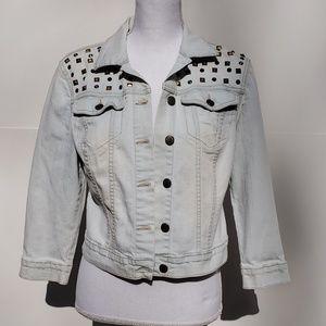 Jessica Simpson Cropped Jean jacket medium